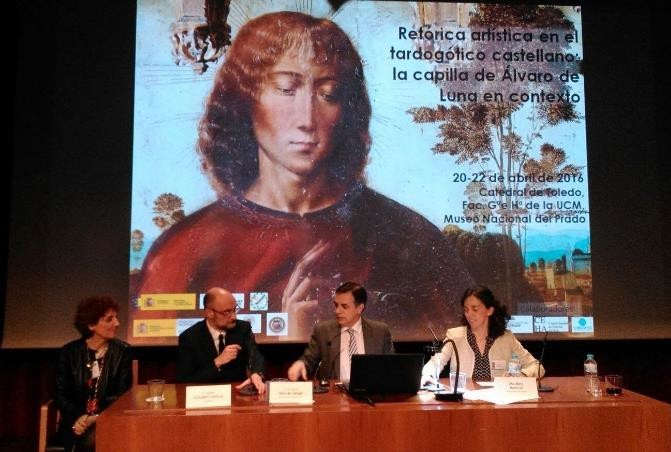En el Congreso Álvaro de Luna dirigido por Olga Pérez Monzón y Matilde Miquel