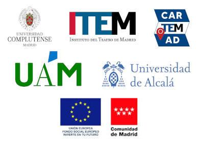 Logos de la instituciones que colaboran en el congreso CARTEMAD