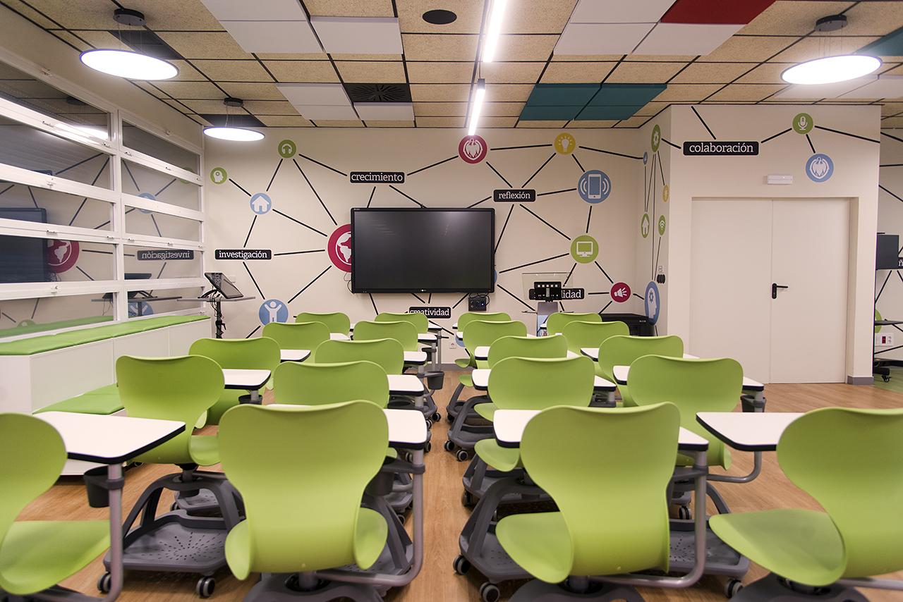 Foto de aula moderna
