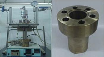 Reactor agitado de alta presión.