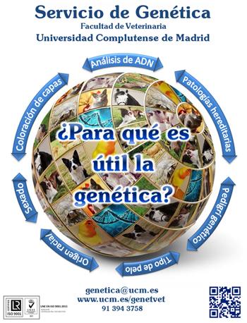 Servicio de genética UCM.