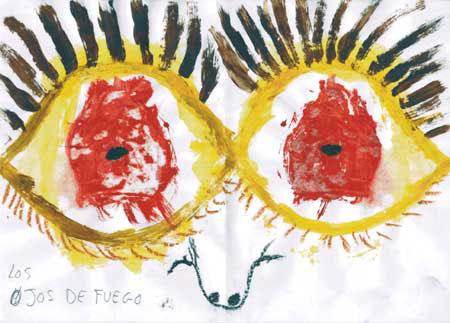 """""""Ojos de fuego"""". Casa de acogida de mujeres maltratadas."""
