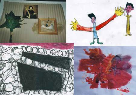 Ejemplos de Arte terapia.