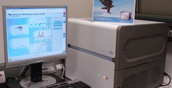Equipo LightCycler® 480 II (Roche) del que disponemos en el laboratorio de investigación de la Facultad de Odontología, UCM.