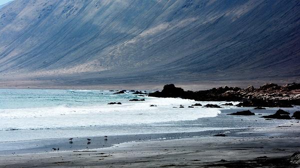 Imagen del océano Pacífico, donde se produce el cambio de temperatura del ENSO. / Mariano Mantel.