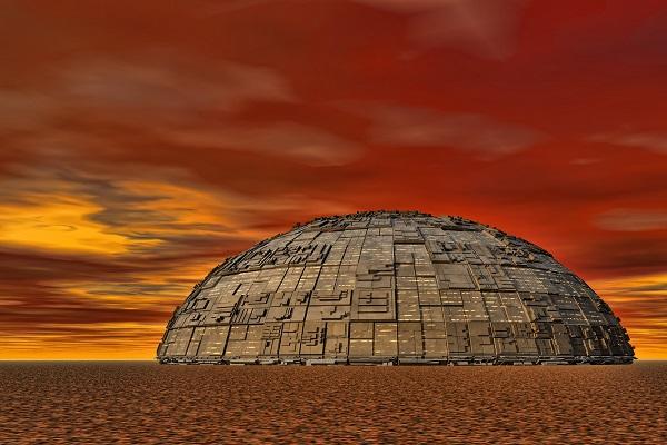 Recreación en 3D de Marte, uno de los escenarios de El Mensaje Darwin. / Driver Photographer.