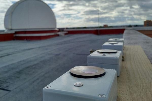 Fotómetros instalados en el Observatorio de la UCM. / Stars4all