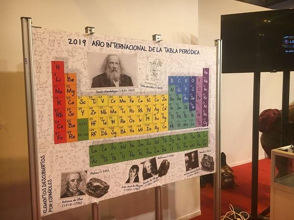 Uno de los juegos que el equipo de Ciencias Químicas presentó en la Feria de Madrid por la Ciencia y la Innovación de 2019. / UCM.