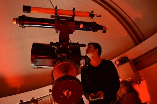 Actividad de ediciones anteriores en el Observatorio de la UCM y que volverá a repetirse. / UCM.