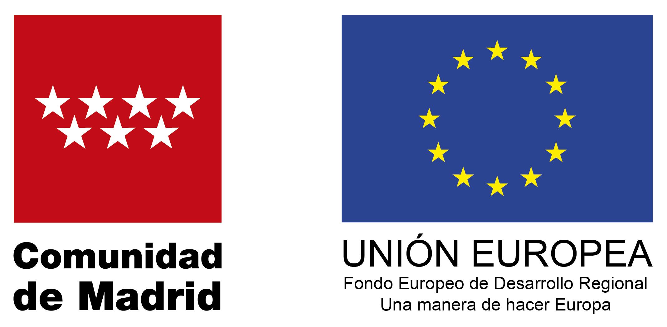Logo CAM y FEDER