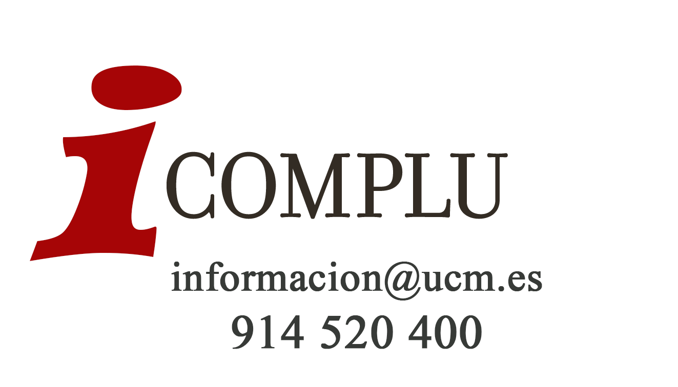 Oficina de Información Complutense teléfono 914520400 correo electrónico hora@ucm.es