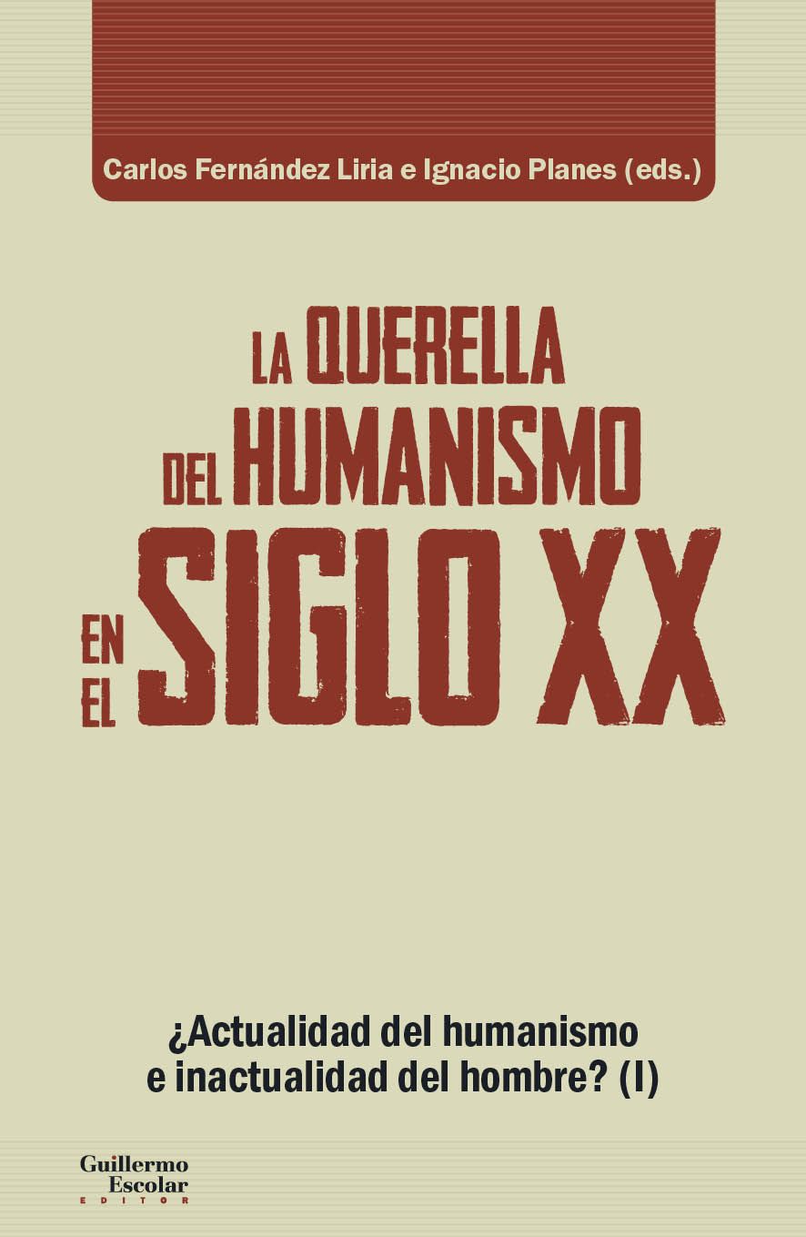 Portada La querella del humanismo en el s. XX