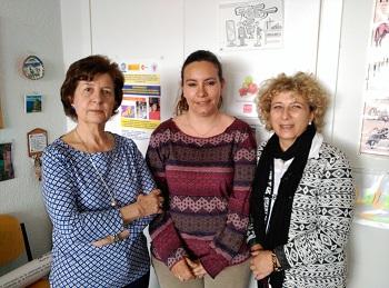 M.D.Marrodán, L. Medialdea y M.D. Cabañas. / UCM.