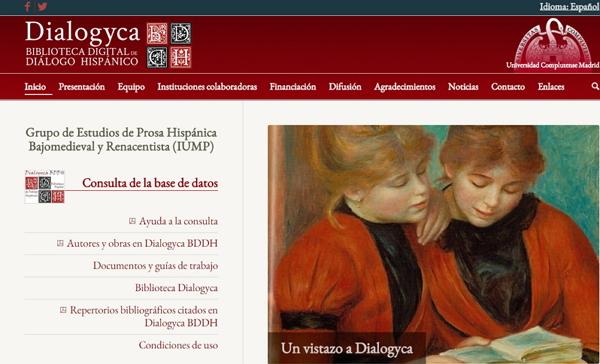 Captura de la web Dialogyca