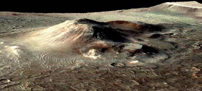 Caldera Nili Patera de Marte. / NASA.