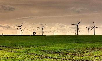 La energía eólica no necesita agua. / Mariajose Raimond.