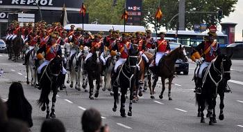 Desfile de las Fuerzas Armadas el 12 de octubre. / Copsadmirer