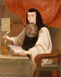 Sor Juana Inés de la Cruz. / Andrés de Islas.