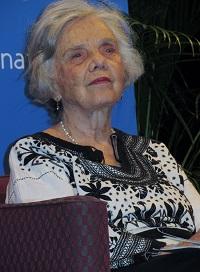 Elena Poniatowska. / R. Fernández.