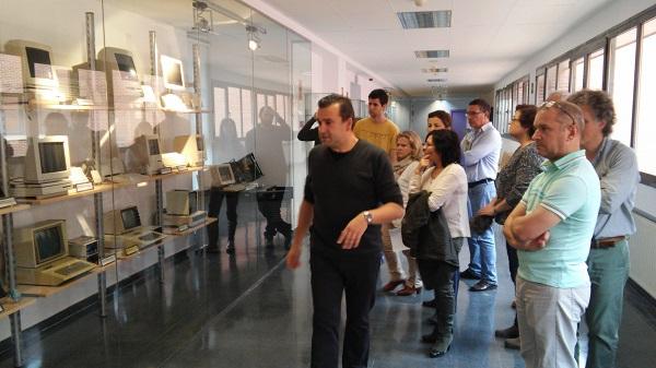 Visita guiada al Museo de Informática. / UCM.