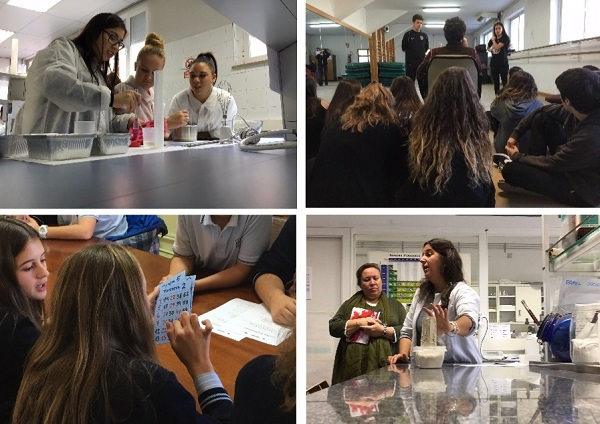 Jóvenes participan en las actividades en Veterinaria, Filología, Estadística y Bellas Artes. / UCM.