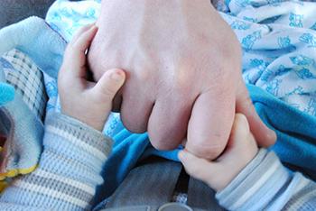 Los padres se implicaban menos que las madres en las tareas relacionadas con los hijos, según el trabajo. / Marc Moss.