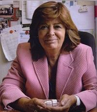 María Vallet, en su despacho. / MV.