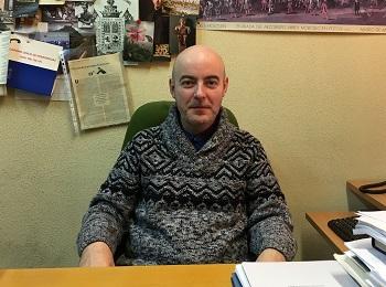 Miguel Luque Talaván, en su despacho. / UCM.