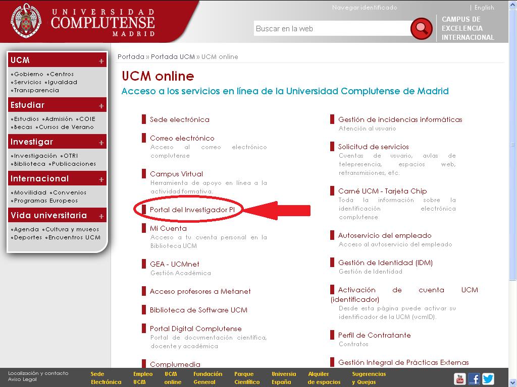 UCM-Universidad Complutense de Madrid