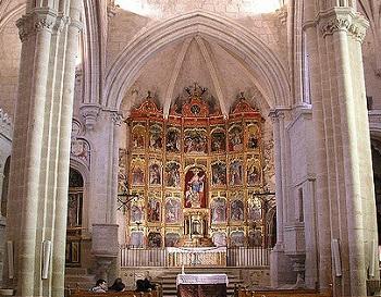 Retablo de la iglesia de Santa María de Trujillo, analizado por Miquel / Sevillista.