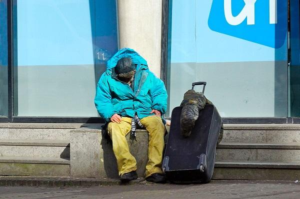 La imagen que creen las personas sin hogar que tienen de ellos la población es más negativa de la que realmente tienen. / Roel Wijnants.