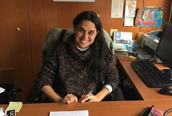 Sonia Panadero en su despacho en la facultad de Psicología. / UCM.