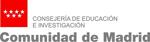 Logo Comunidad de Madrid - Consejería de Educación e Investigación