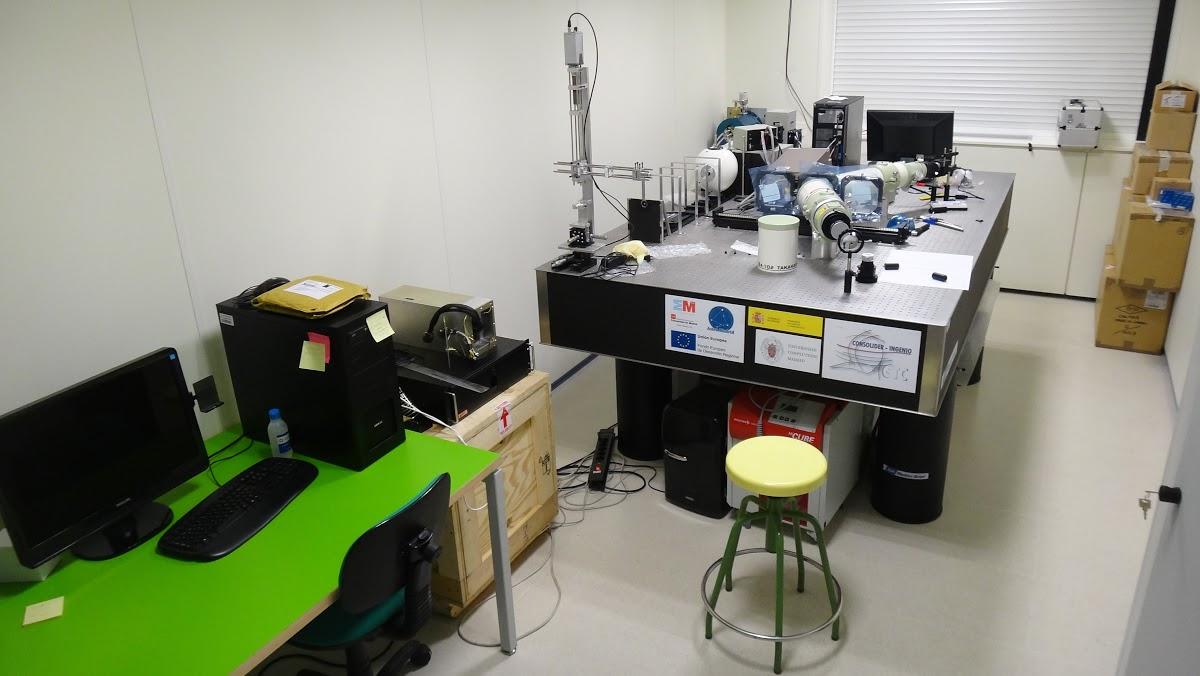 Laboratorio de Instrumentación científica Avanzada