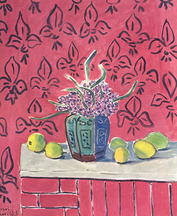 Matisse, Still life with lemons - 1943