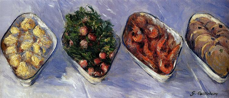 Caillebotte - Hors d'oeuvre - 1881-1882