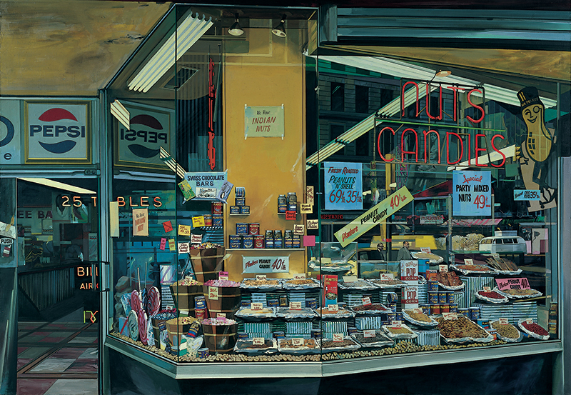 The candy store - Richard Estes - 1969