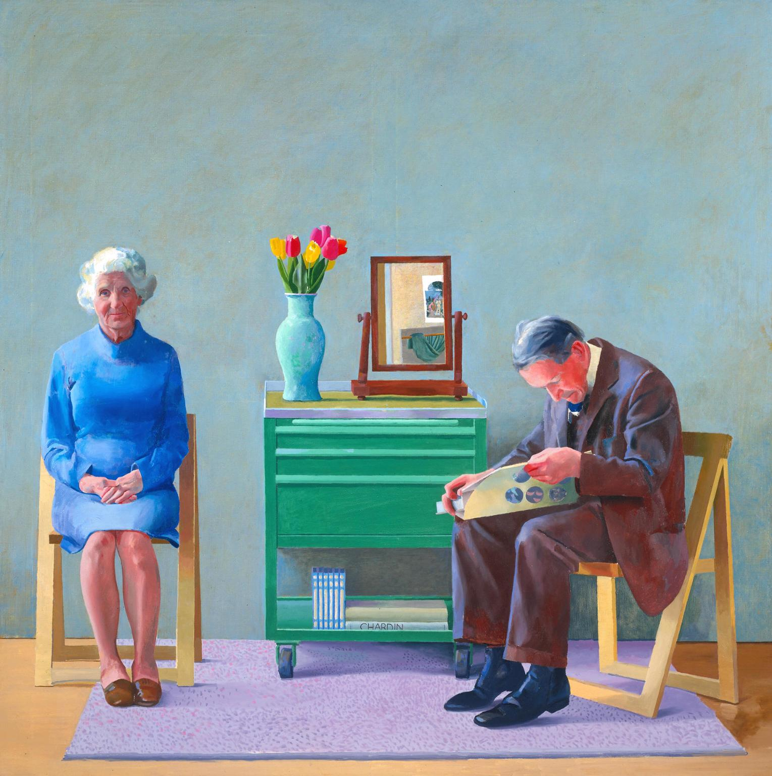 David Hockney - My parents - 1977