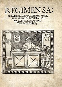 Régimen Sanitatis Salernitianum, 1480
