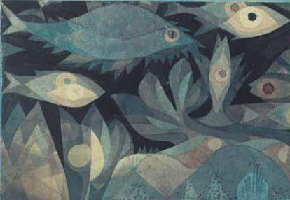 Paul Klee - Fish in the deep - 1921