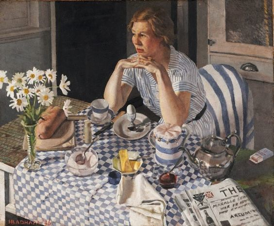 Herbert Badham - Breakfast piece- 1936