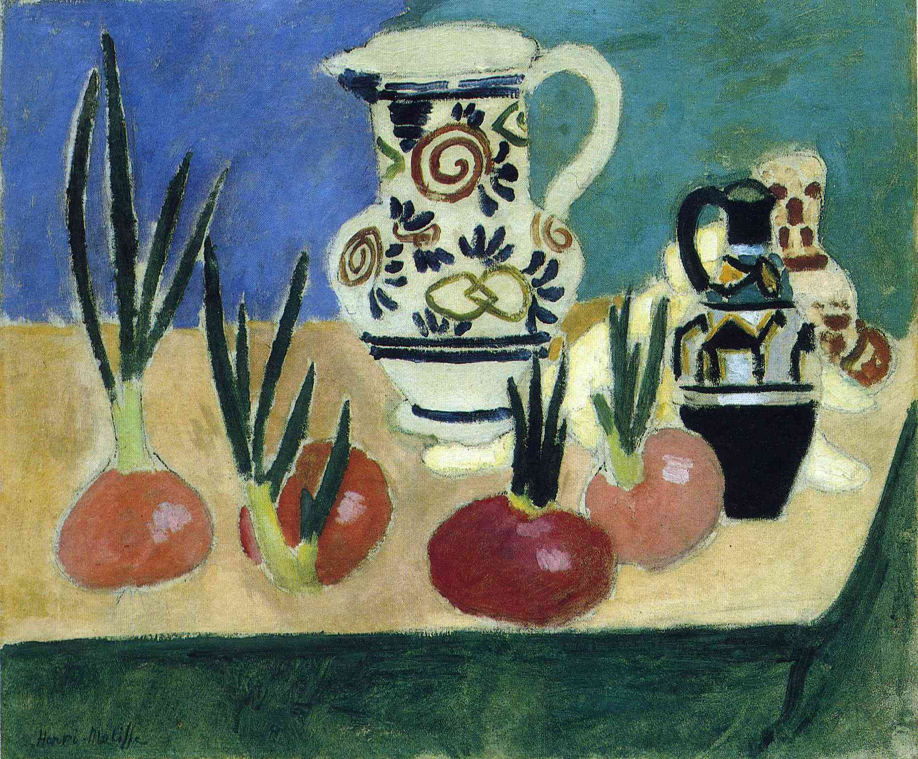 Henri Matisse - The red onions - 1906