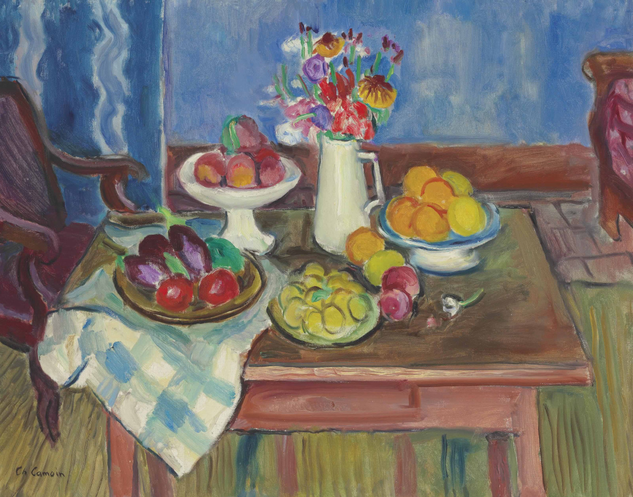 Charles Camoin (1879-1965) Nature morte (c. 1950)