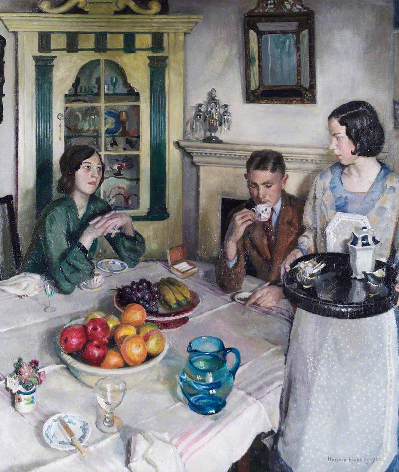 Harold Harvey - The Young Menage - 1932