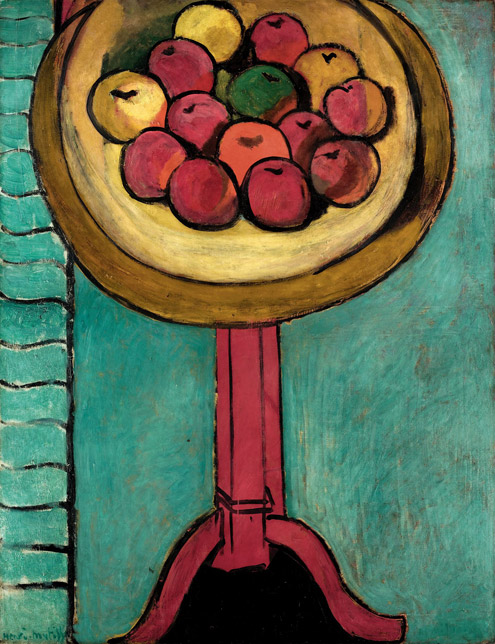 Henri Matisse - Bowl of Apples on a Table - 1916a