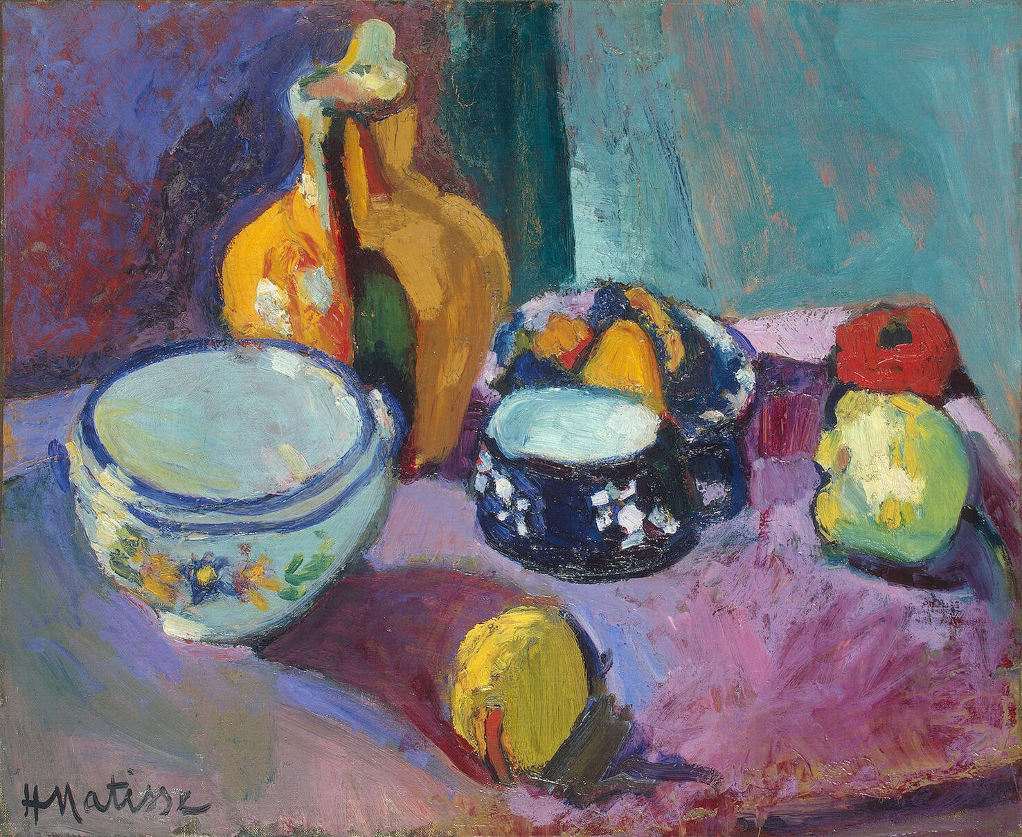 Matisse - Dishes and Fruit - 1901