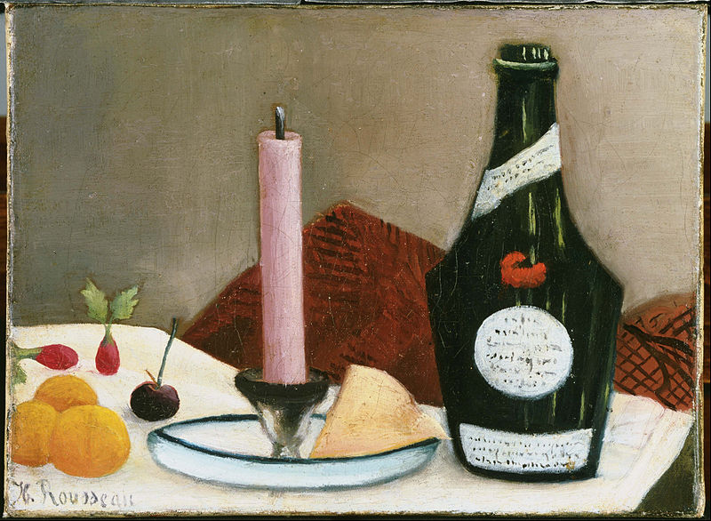 Henri Rousseau - The Pink Candle - 1908