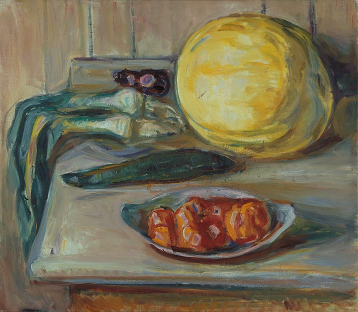 Edvard Munch - Still Life with Pumpkin and other Vegetables - 1926–30