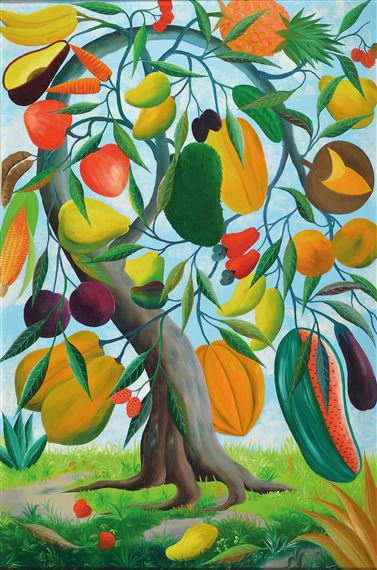 Fernand Pierre - Magic Fruit Tree - c1970