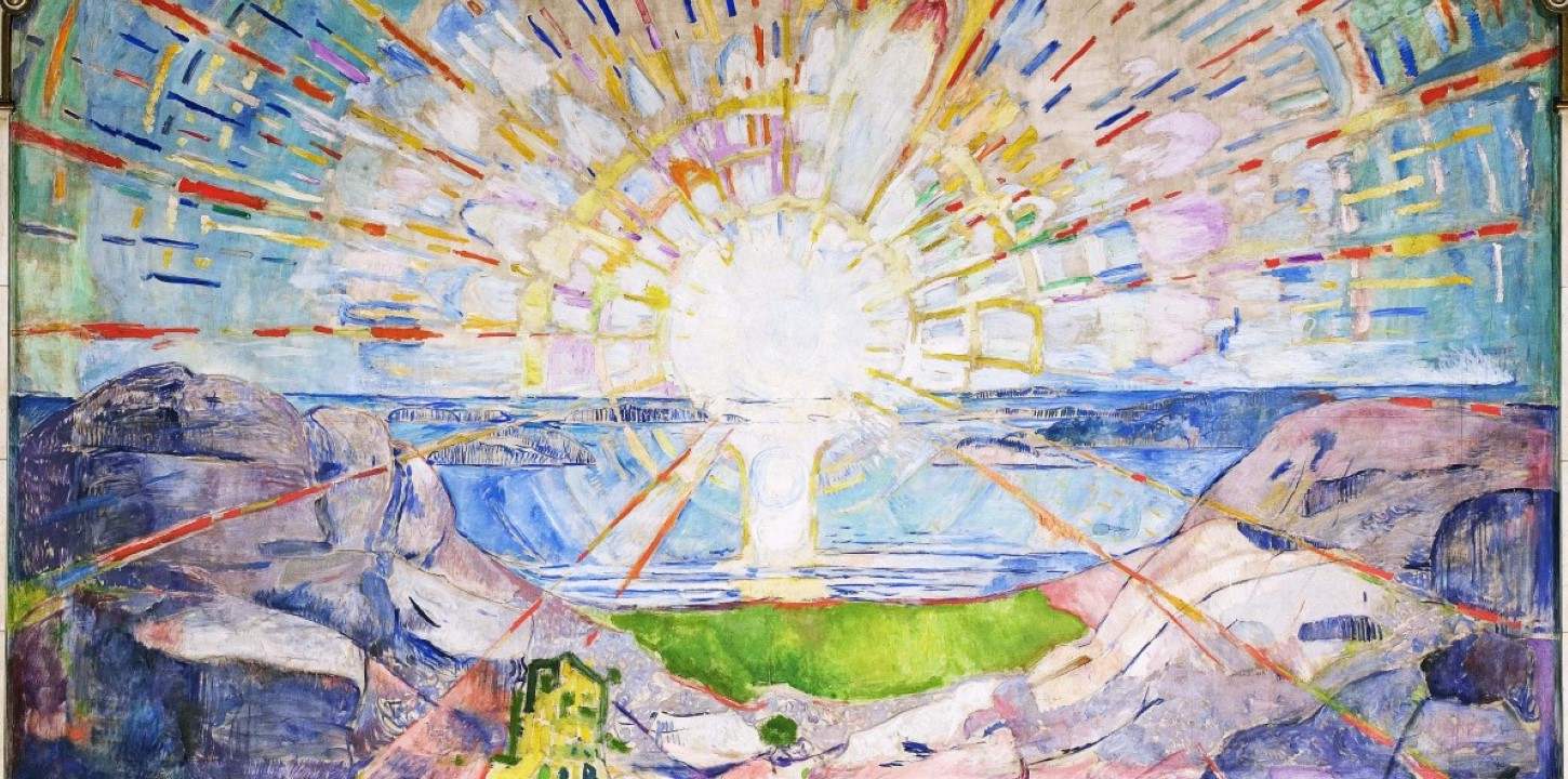 Edvard Munch - In the Aula - The Sun